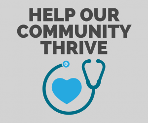 Have you made your donation to help our community THRIVE?