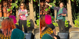 Family Planning CEO Debra Marcus was joined by two members of our Community Education team, Kasia Swift & Jessica Reed, as #TeamFamPlan took part in Saturday's reproductive justice rally in Oneonta.