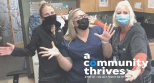 Thank you SO MUCH to those who donated in this year's A Community Thrives campaign. Your combined gifts helped us meet our goal -- and we are so grateful. Because of you, more individuals will be able to access affordable, compassionate gynecological and reproductive medical care in Broome, Chenango, Delaware, and Otsego. Thank you again, from the bottom of our hearts.