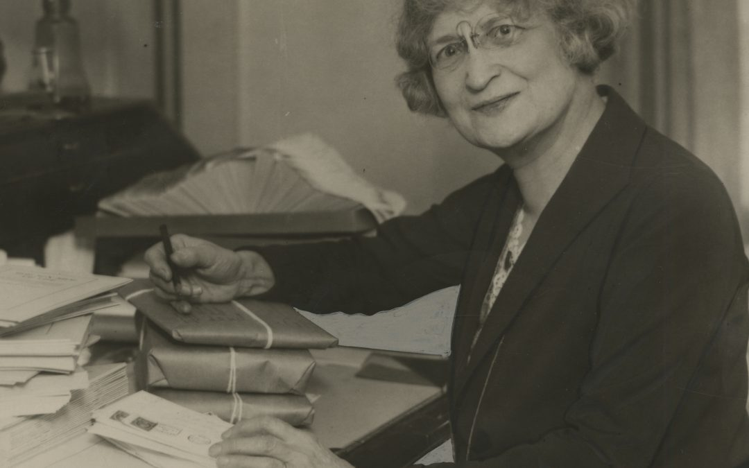 In the early 20th century, Mary Ware Dennett was a strong advocate for social reform — specifically, sex education and a woman's ability to access forms of contraception.